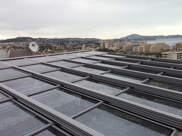 Мобильная крыша в Кальпе